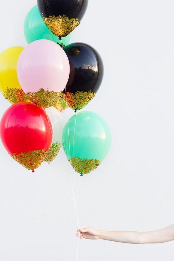 Balões com Brilhos